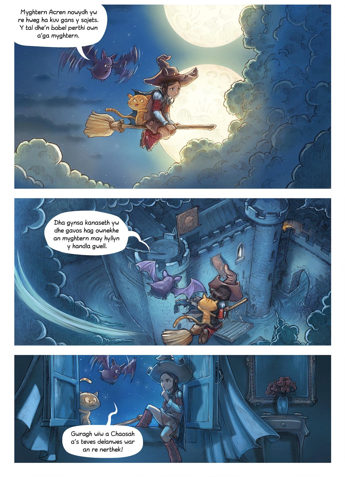 Rann 11: An Gwraghes a Chaosah, Page 3
