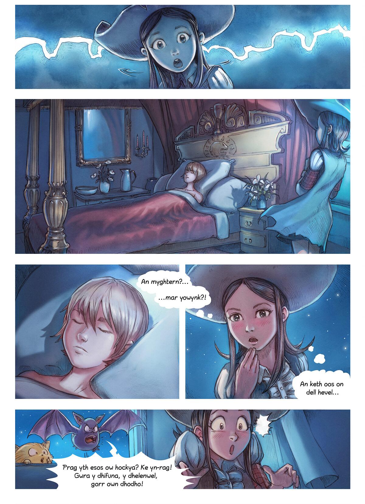 Rann 11: An Gwraghes a Chaosah, Page 4