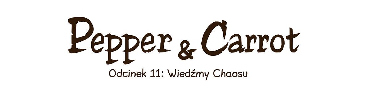 A webcomic page of Pepper&Carrot, odcinek 11 [pl], strona 0