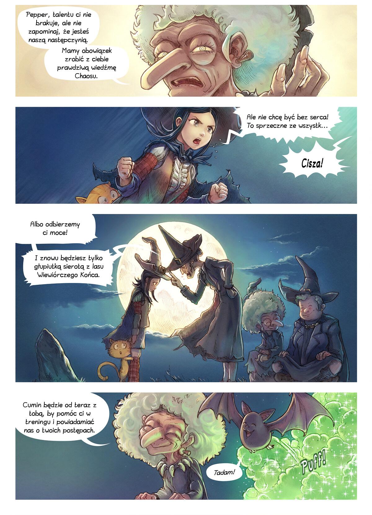 A webcomic page of Pepper&Carrot, odcinek 11 [pl], strona 2