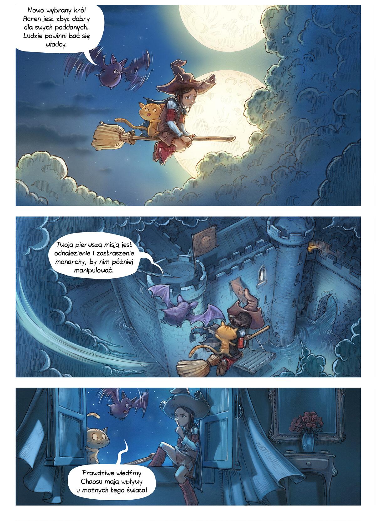 A webcomic page of Pepper&Carrot, odcinek 11 [pl], strona 3