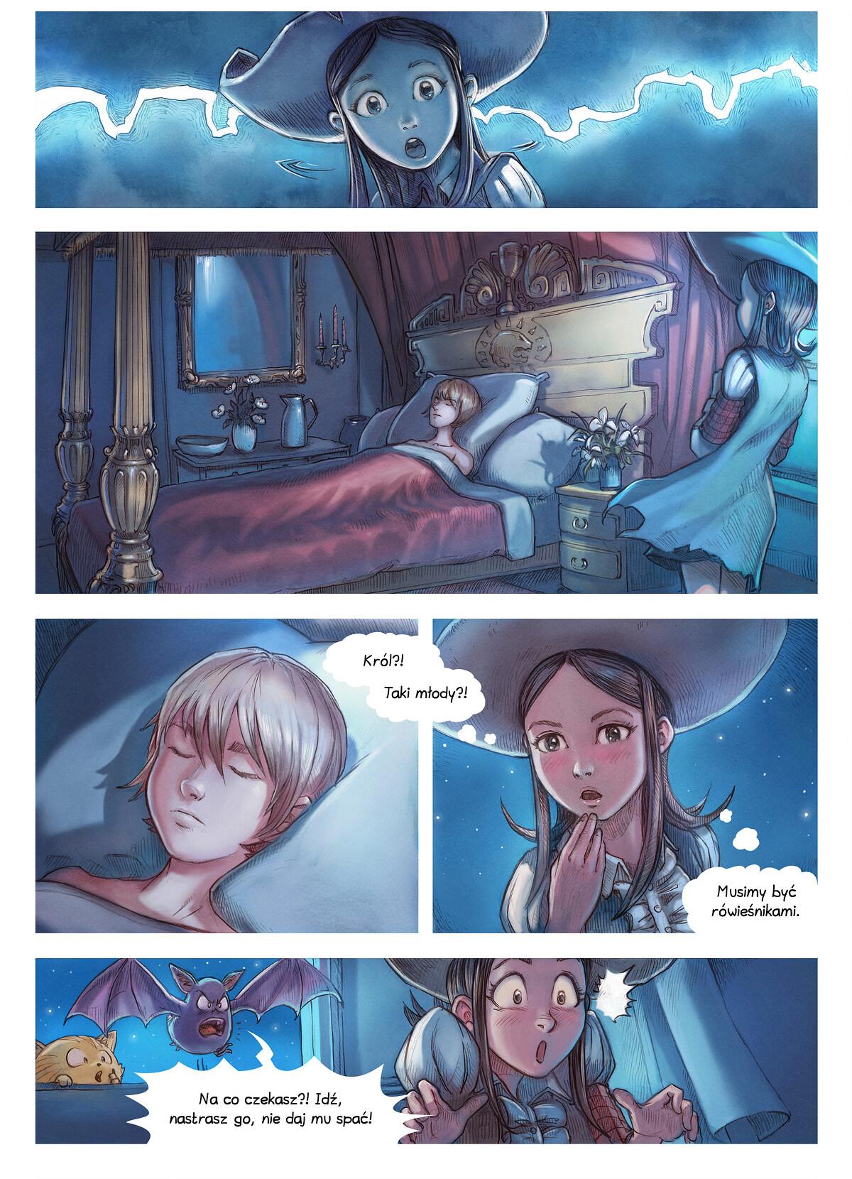 A webcomic page of Pepper&Carrot, odcinek 11 [pl], strona 4