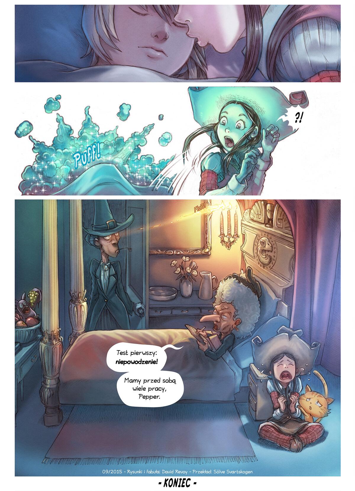A webcomic page of Pepper&Carrot, odcinek 11 [pl], strona 6