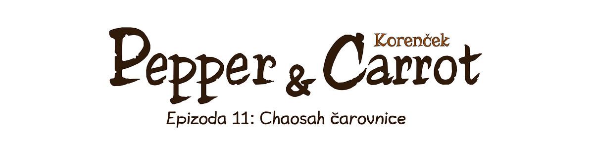 A webcomic page of Pepper&Carrot, epizoda 11 [sl], stran 0
