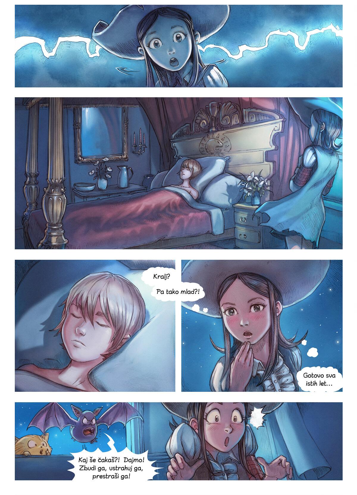 A webcomic page of Pepper&Carrot, epizoda 11 [sl], stran 4