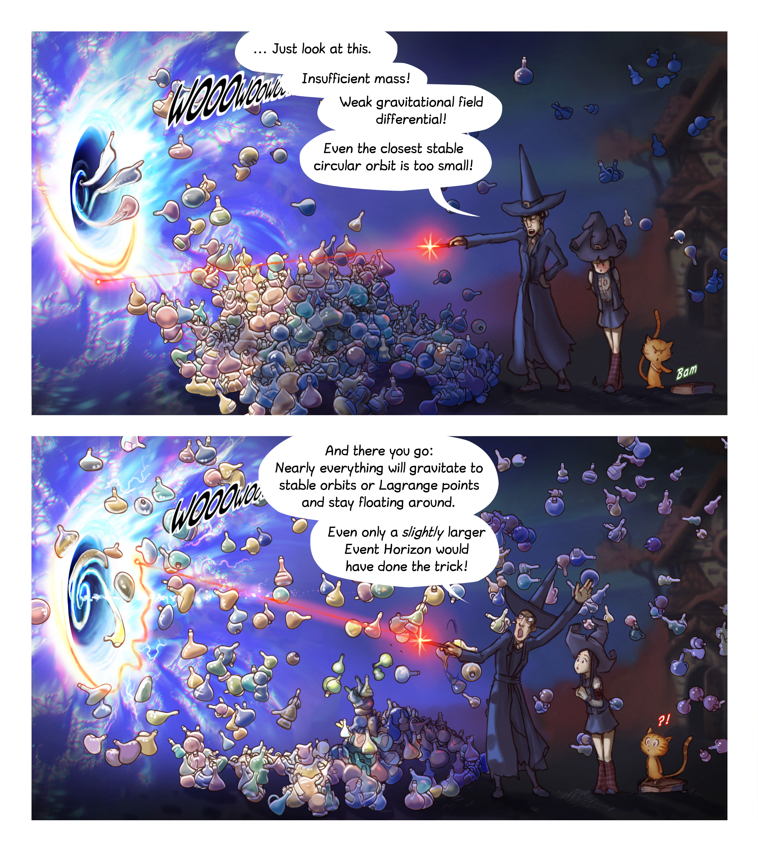 A webcomic page of Pepper&Carrot, episode 12 [en], page 5