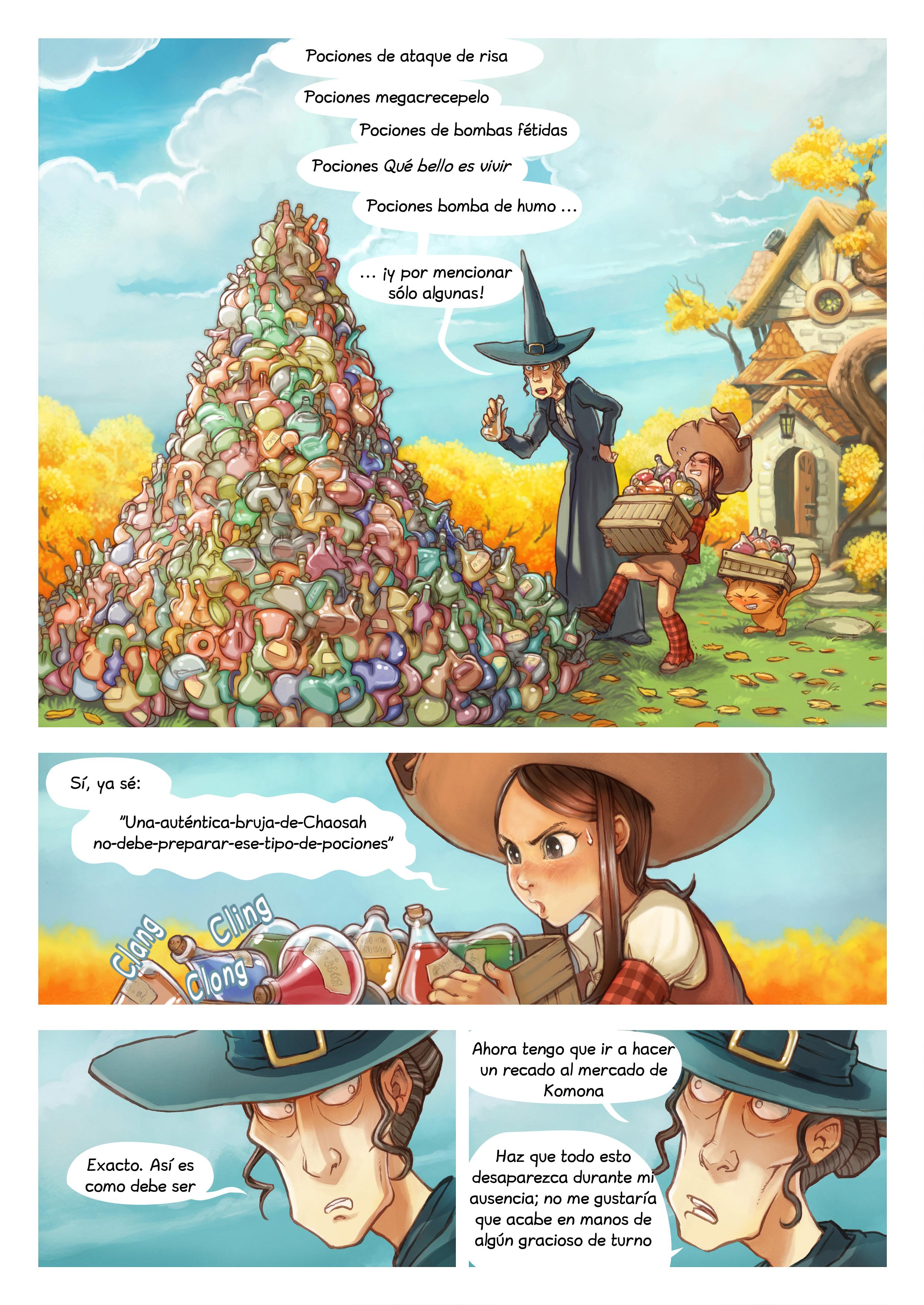 Episodio 12: Limpieza de otoño, Page 1