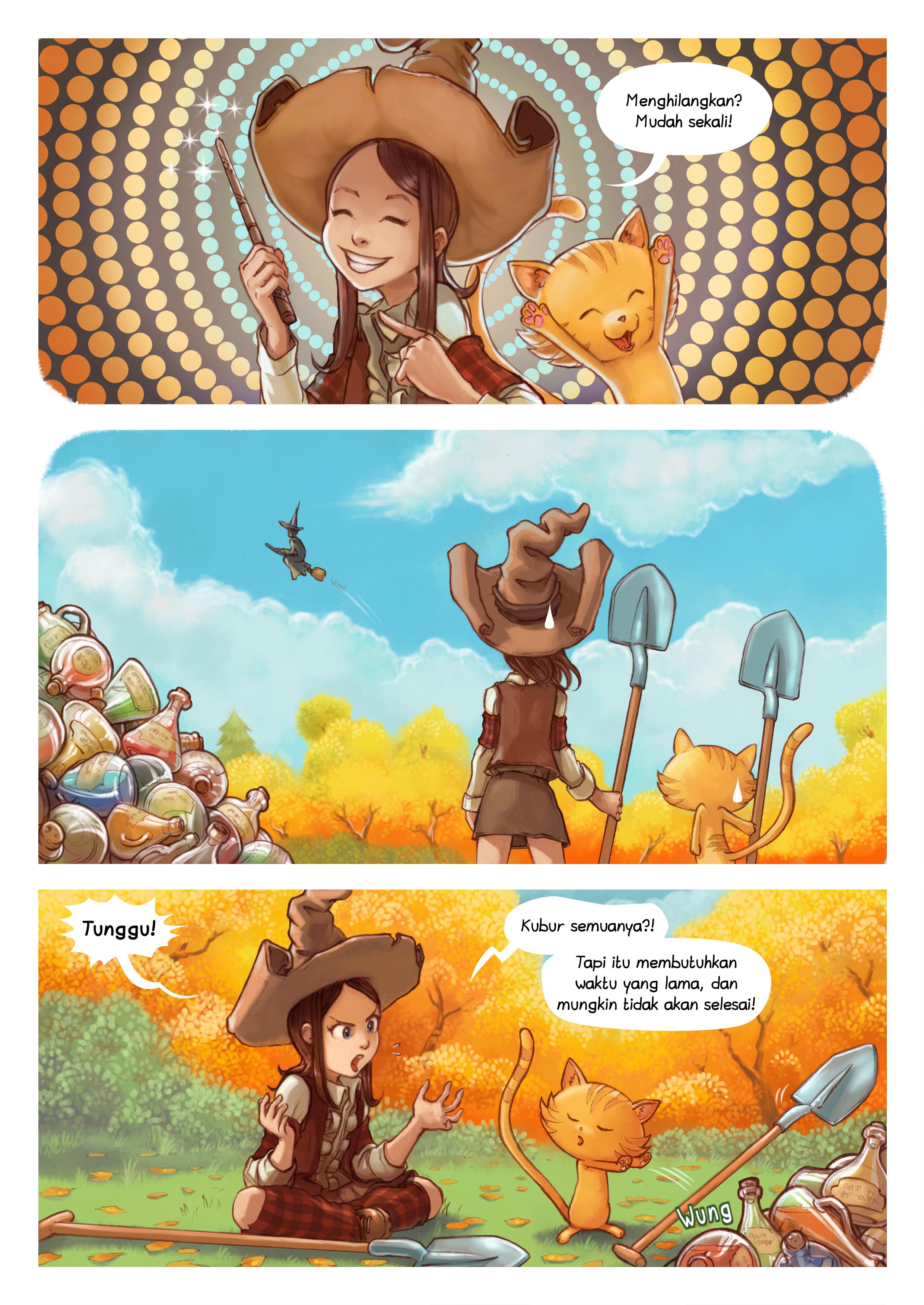 Episode 12: Bersih-bersih musim gugur, Page 2