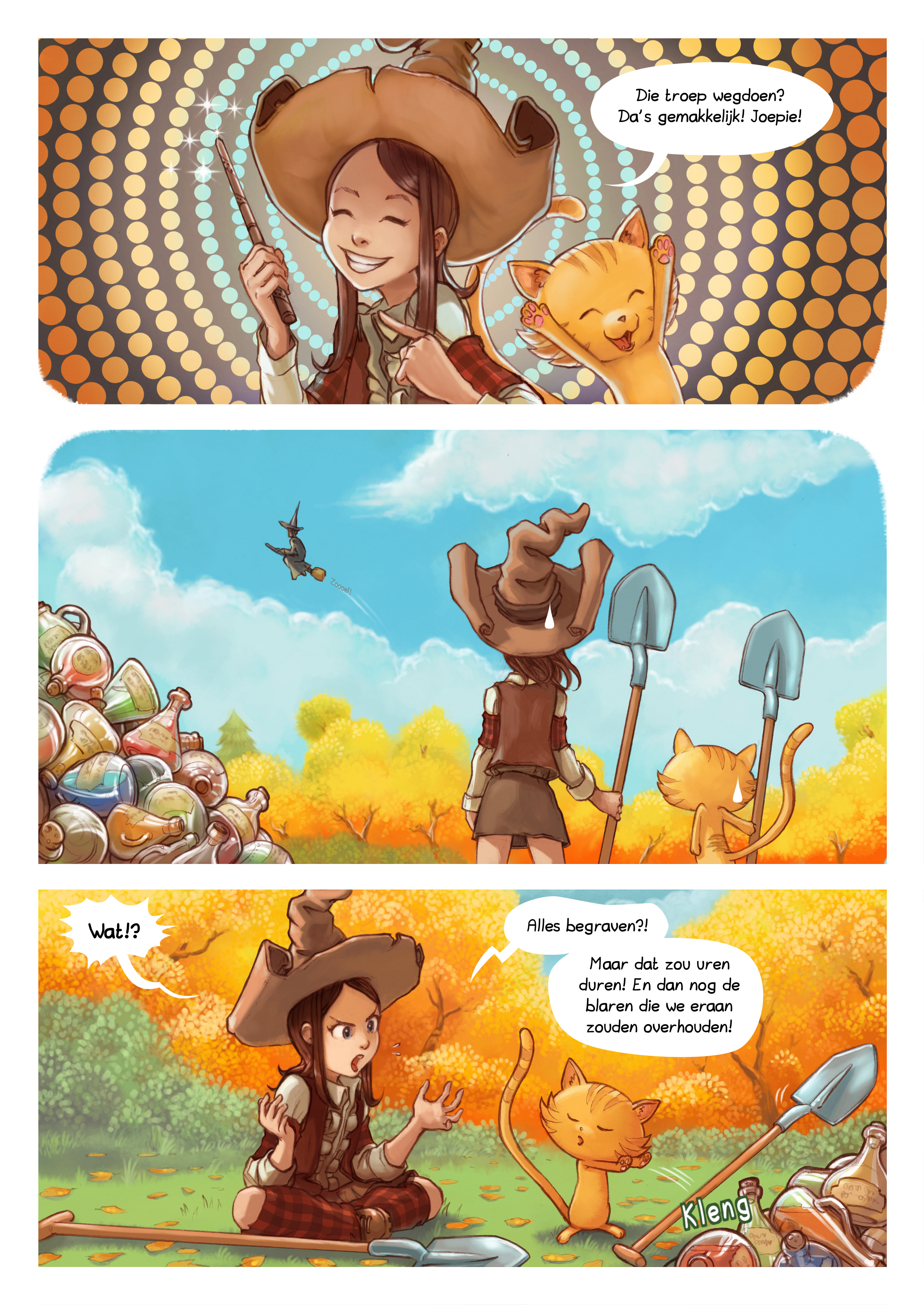 A webcomic page of Pepper&Carrot, aflevering 12 [nl], pagina 2