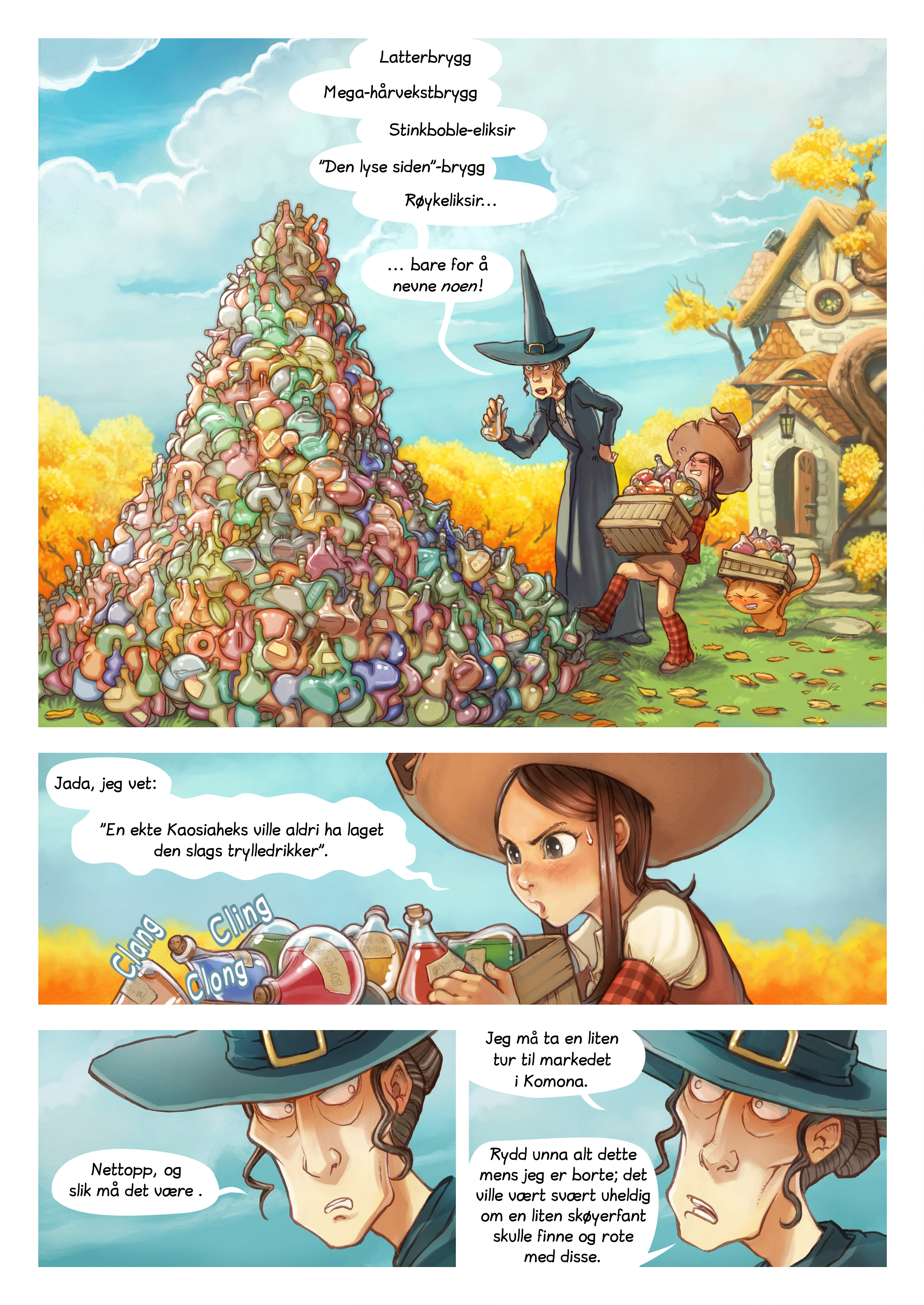 Episode 12: Høstrengjøring, Page 1