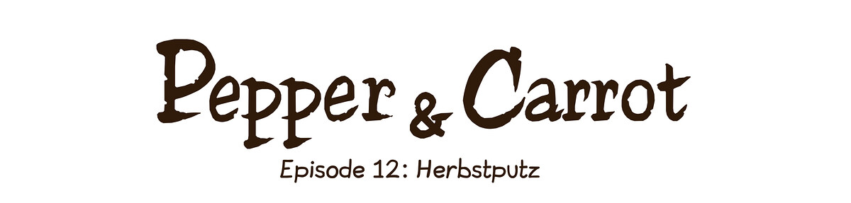 A webcomic page of Pepper&Carrot, Episode 12 [de], Seite 0
