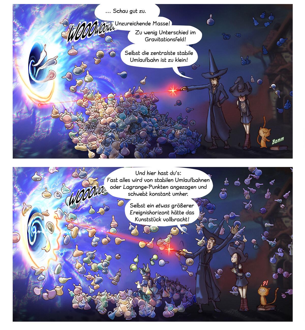 A webcomic page of Pepper&Carrot, Episode 12 [de], Seite 5