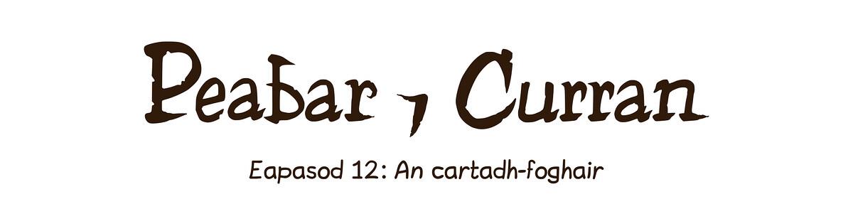 Eapasod 12: An cartadh-foghair