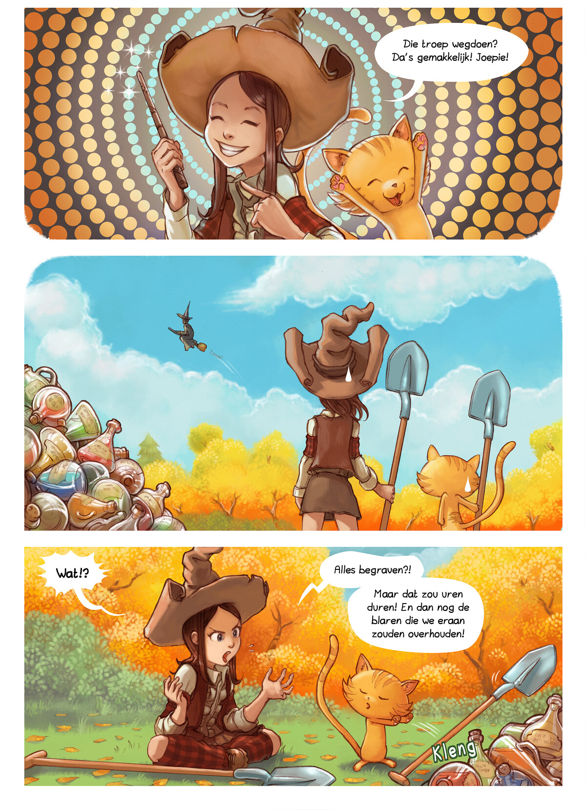 A webcomic page of Pepper&Carrot, aflevering 2 , pagina 2