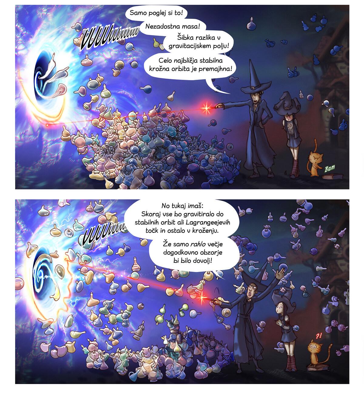 A webcomic page of Pepper&Carrot, epizoda 12 [sl], stran 5