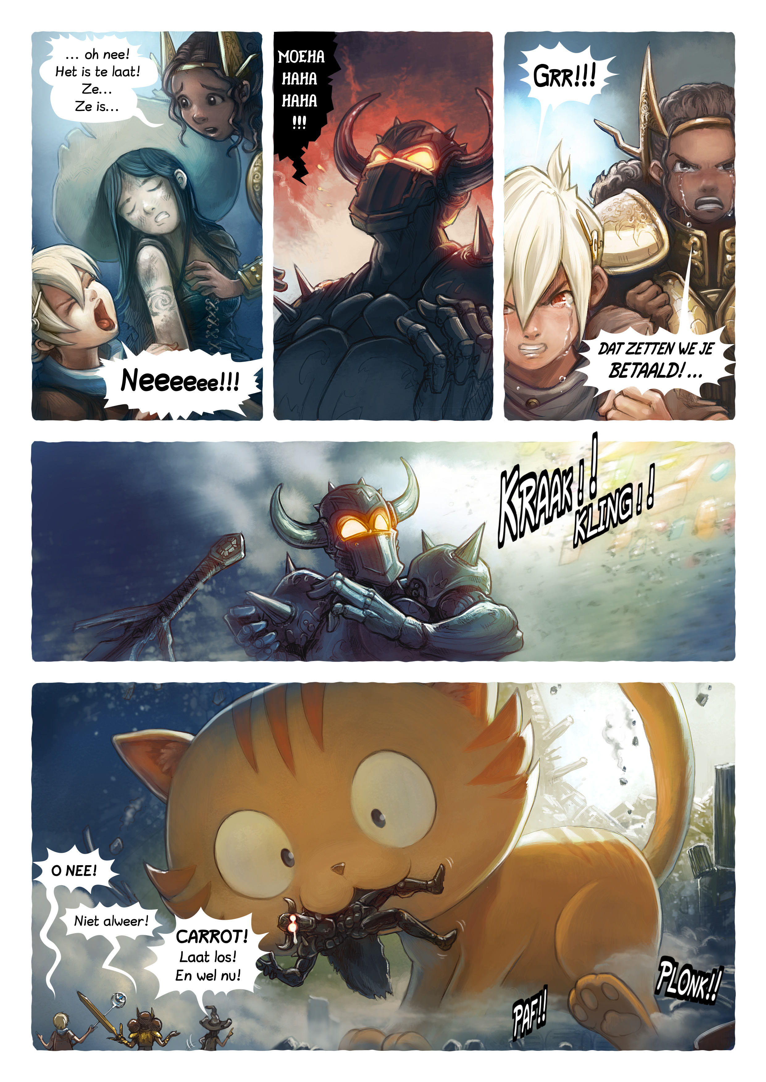 A webcomic page of Pepper&Carrot, aflevering 13 [nl], pagina 5
