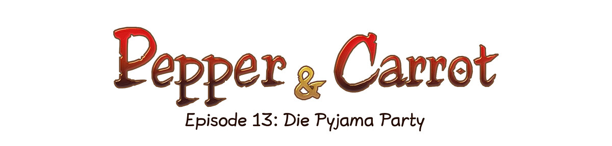 A webcomic page of Pepper&Carrot, Episode 13 [de], Seite 0