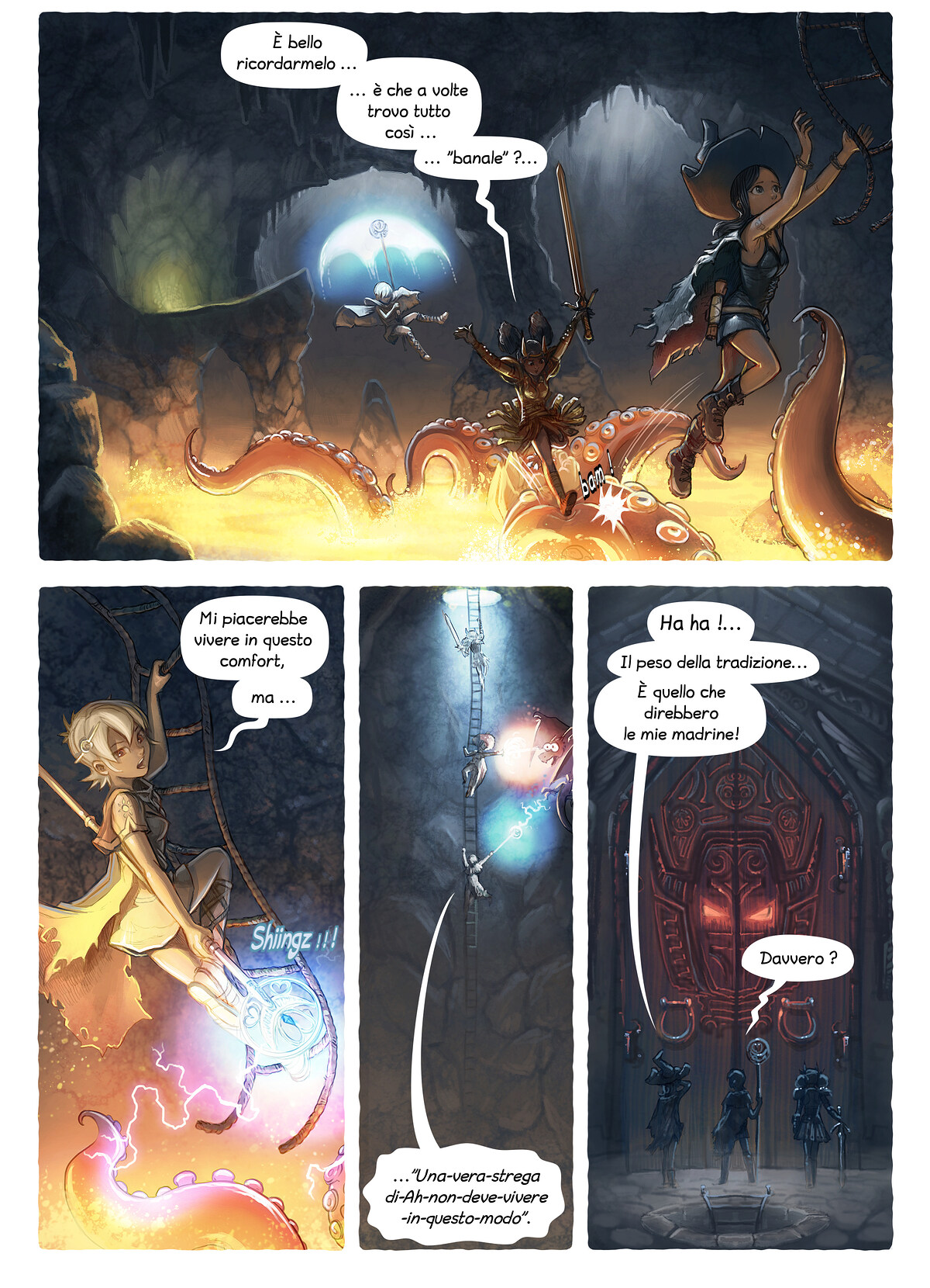 A webcomic page of Pepper&Carrot, episodio 13 [it], pagina 3