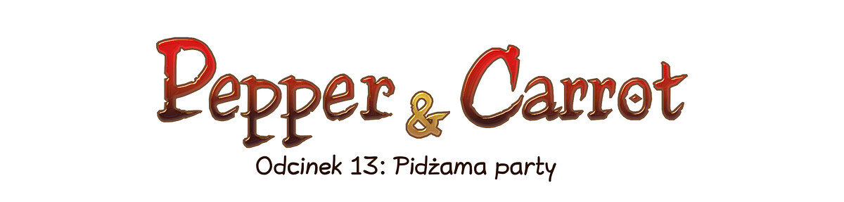 A webcomic page of Pepper&Carrot, odcinek 13 [pl], strona 0