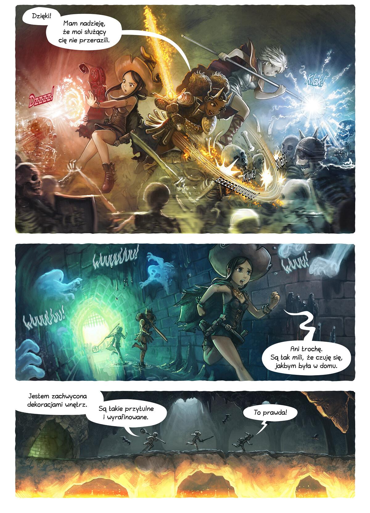 A webcomic page of Pepper&Carrot, odcinek 13 [pl], strona 2