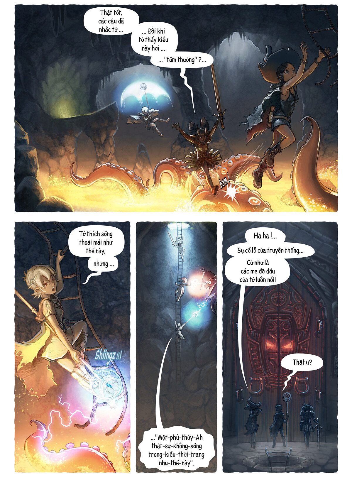 A webcomic page of Pepper&Carrot, Tập 13 [vi], trang 3