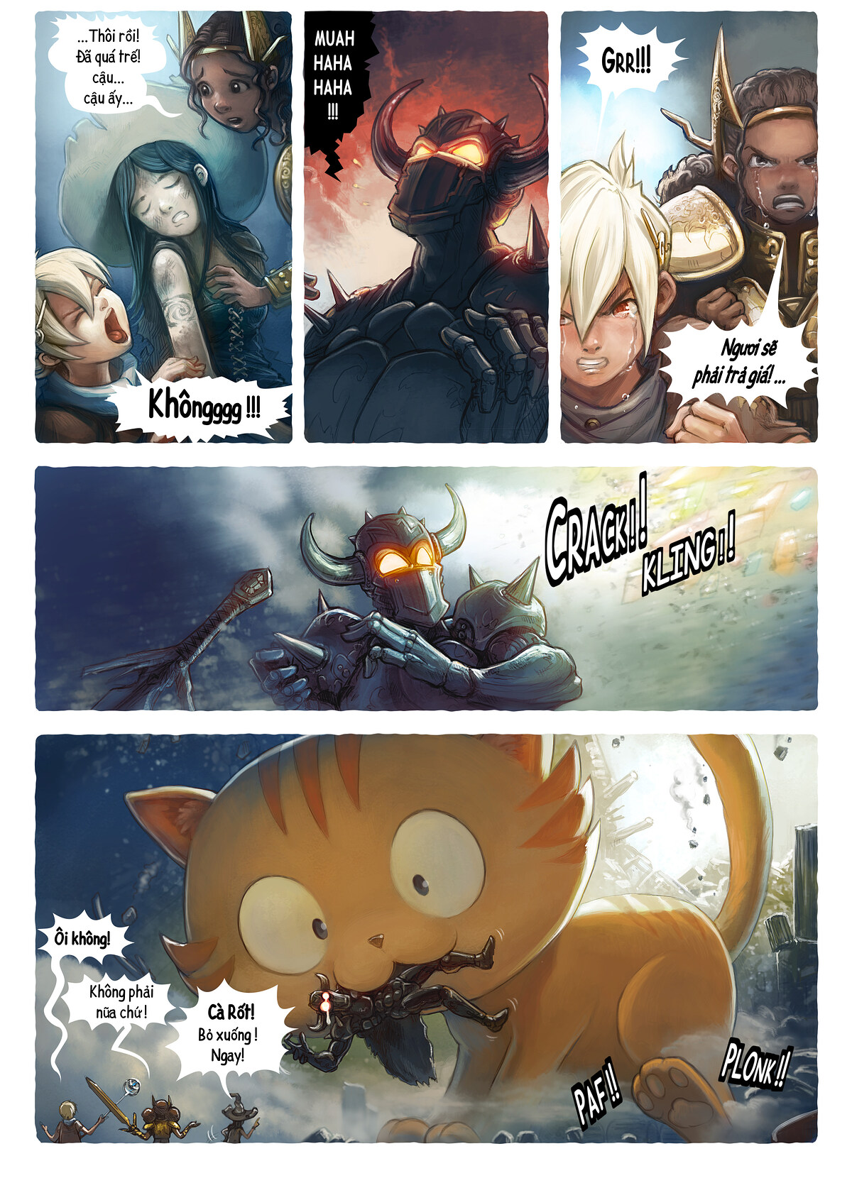 A webcomic page of Pepper&Carrot, Tập 13 [vi], trang 5