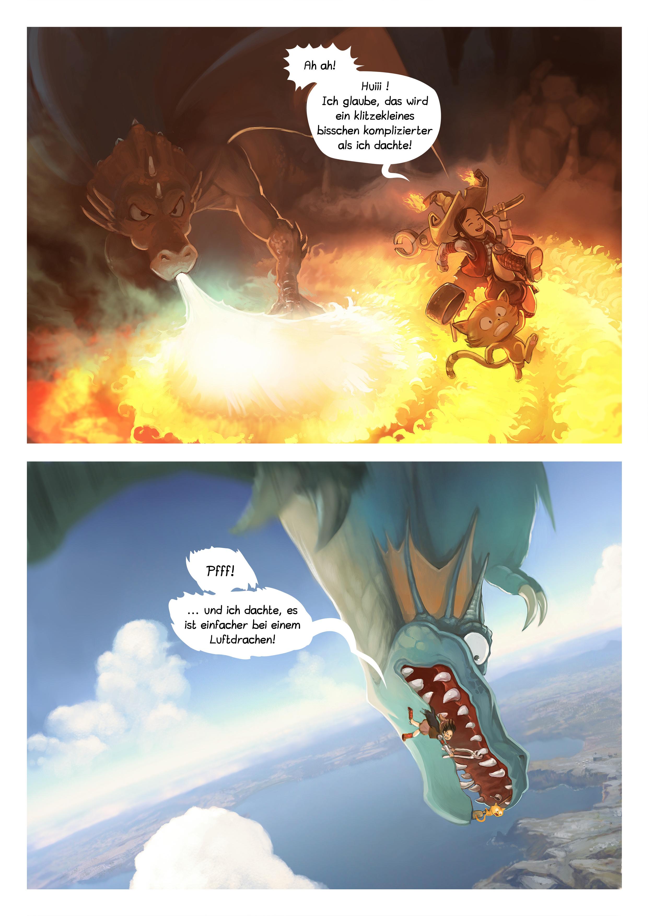 A webcomic page of Pepper&Carrot, Episode 14 [de], Seite 3
