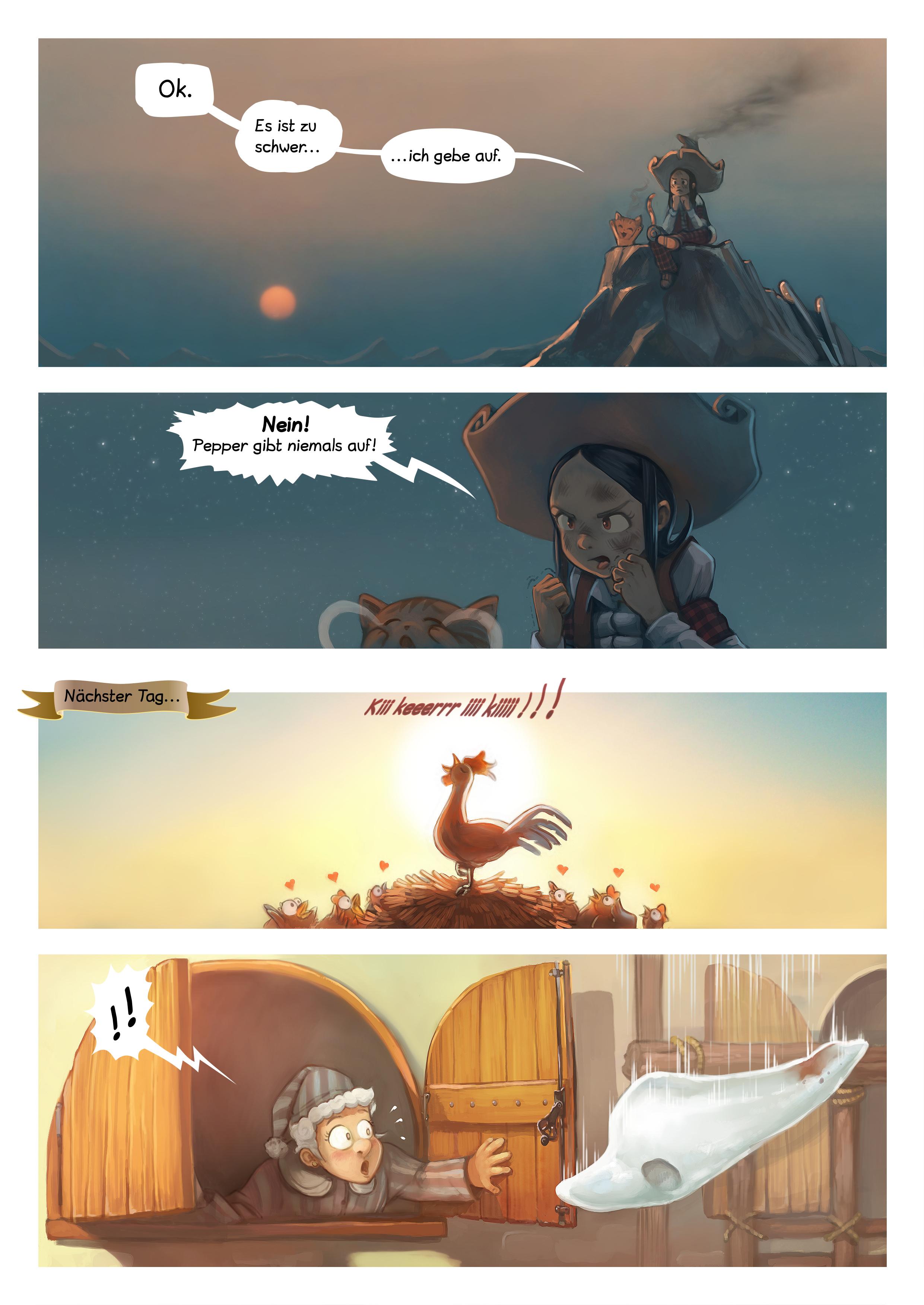 A webcomic page of Pepper&Carrot, Episode 14 [de], Seite 5