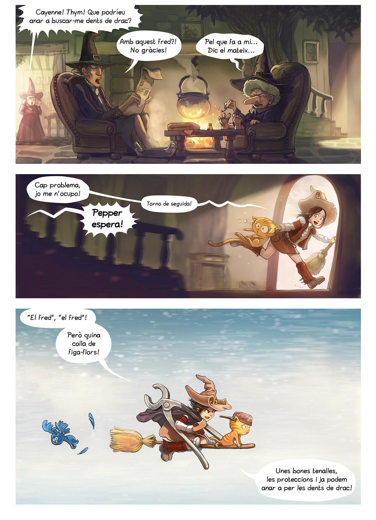 A webcomic page of Pepper&Carrot, episodi 14 [ca], pàgina 2