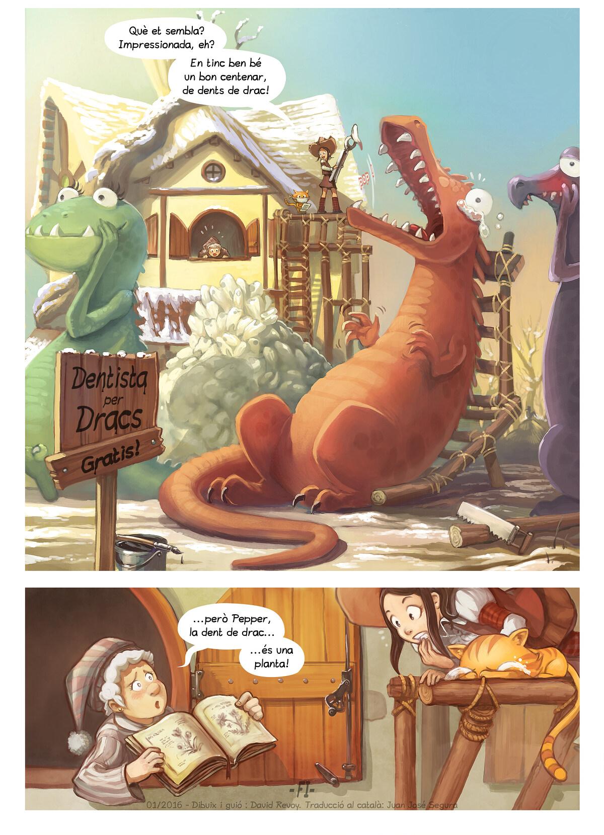 A webcomic page of Pepper&Carrot, episodi 14 [ca], pàgina 6