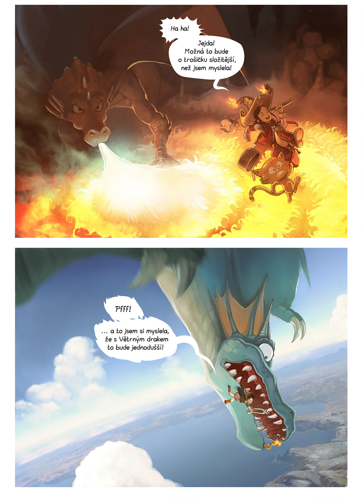 A webcomic page of Pepper&Carrot, epizoda 14 [cs], strana 3