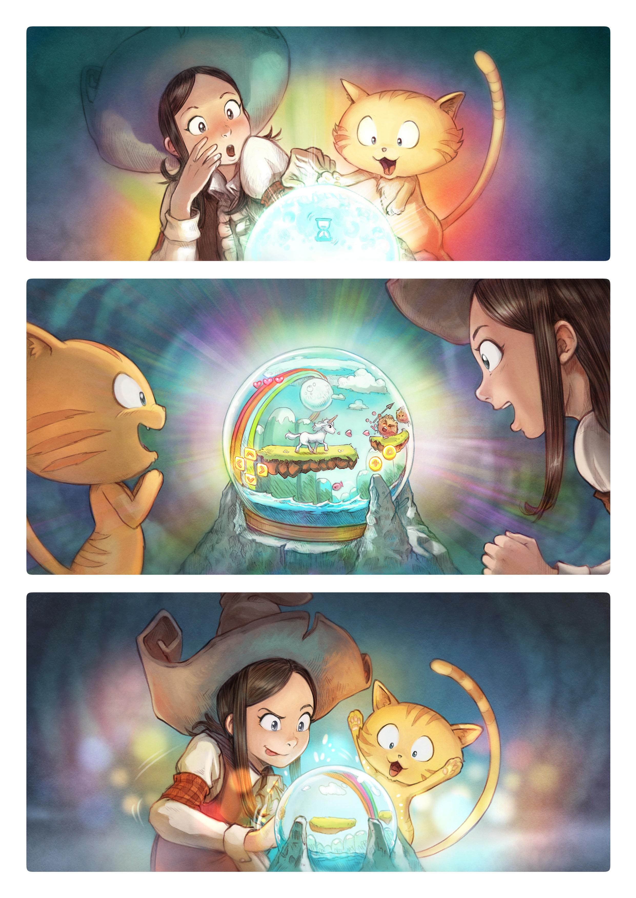 A webcomic page of Pepper&Carrot, Episode 15 [de], Seite 4