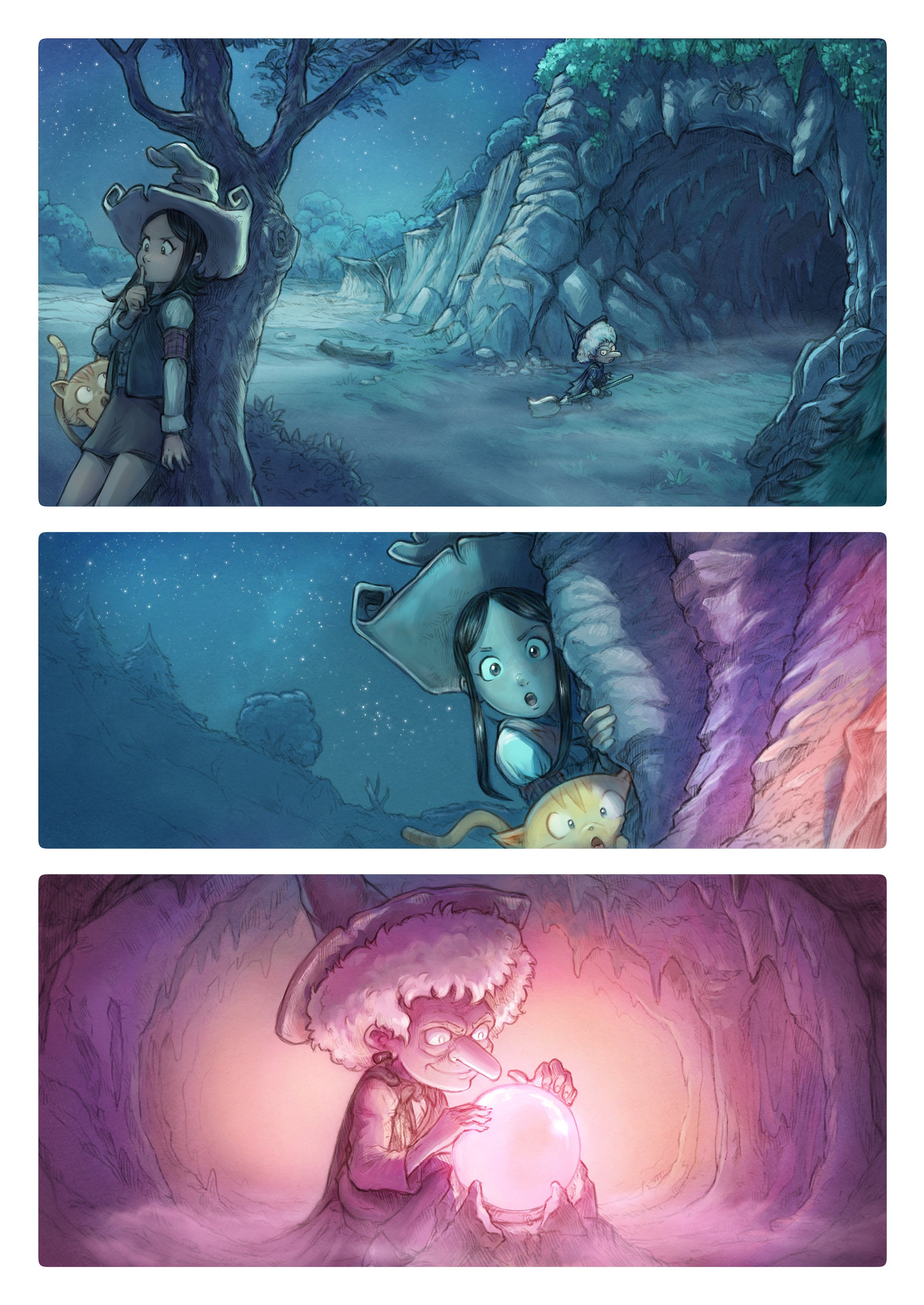 A webcomic page of Pepper&Carrot, aflevering 15 [nl], pagina 1