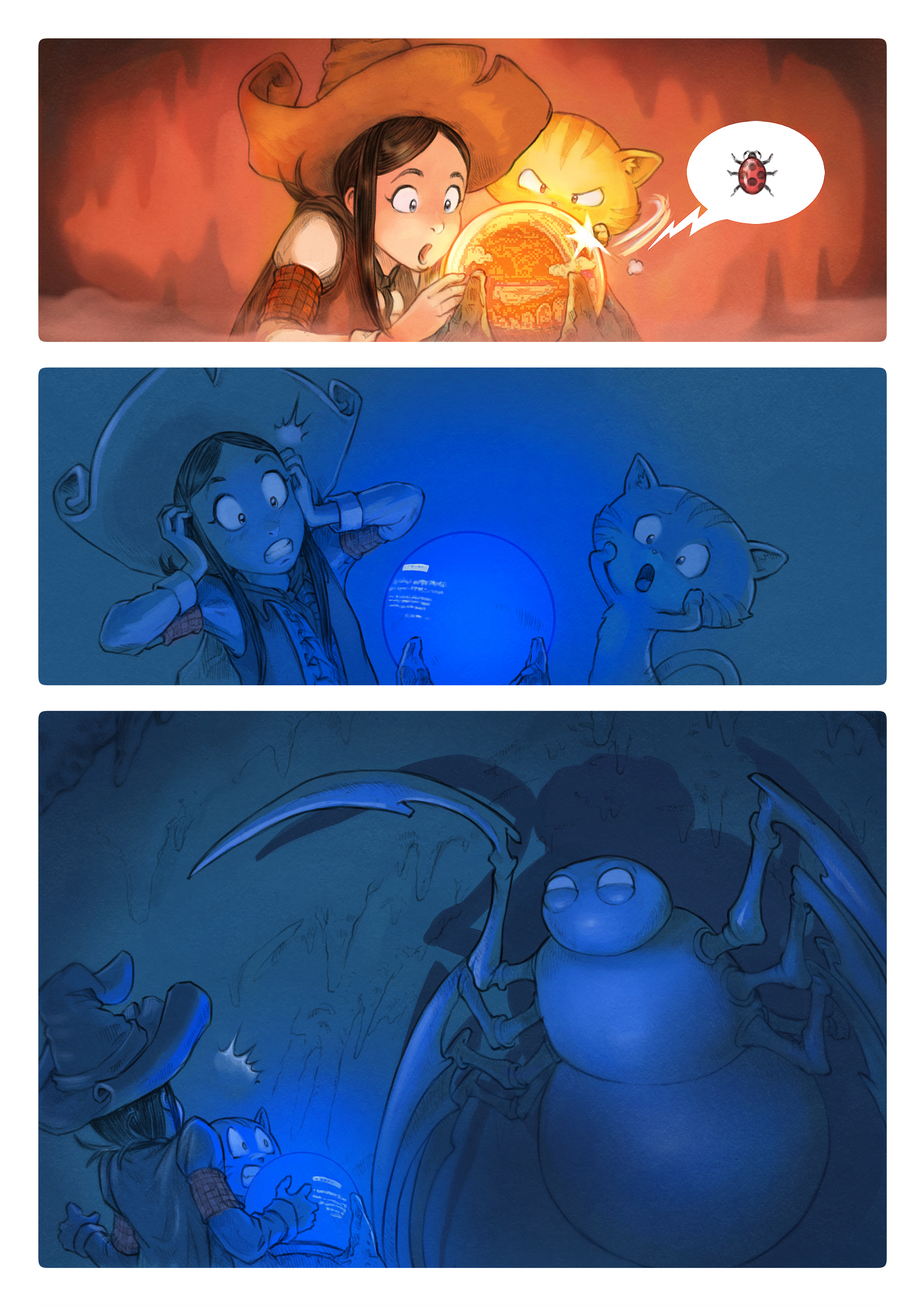 A webcomic page of Pepper&Carrot, aflevering 15 [nl], pagina 5