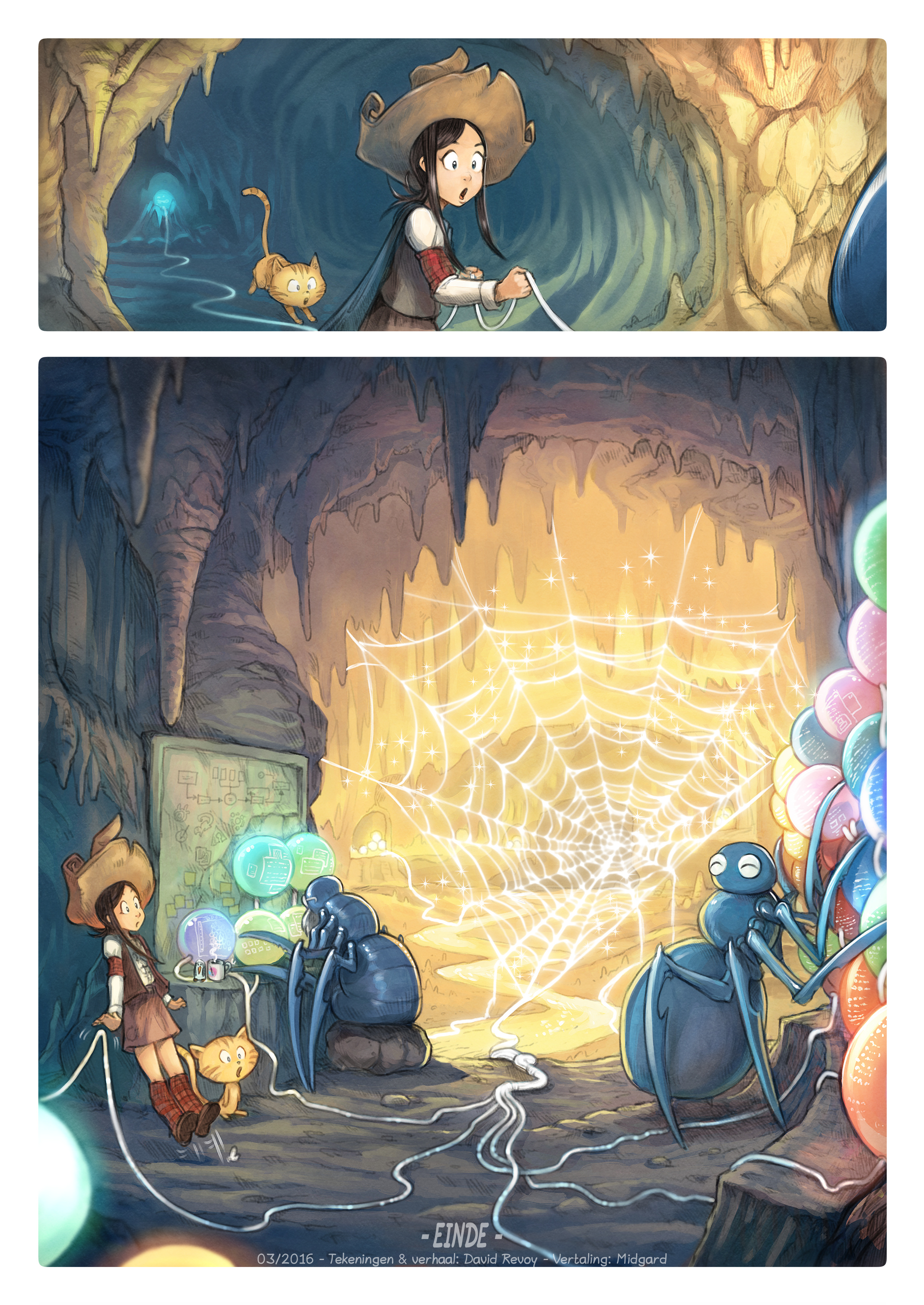 A webcomic page of Pepper&Carrot, aflevering 15 [nl], pagina 8
