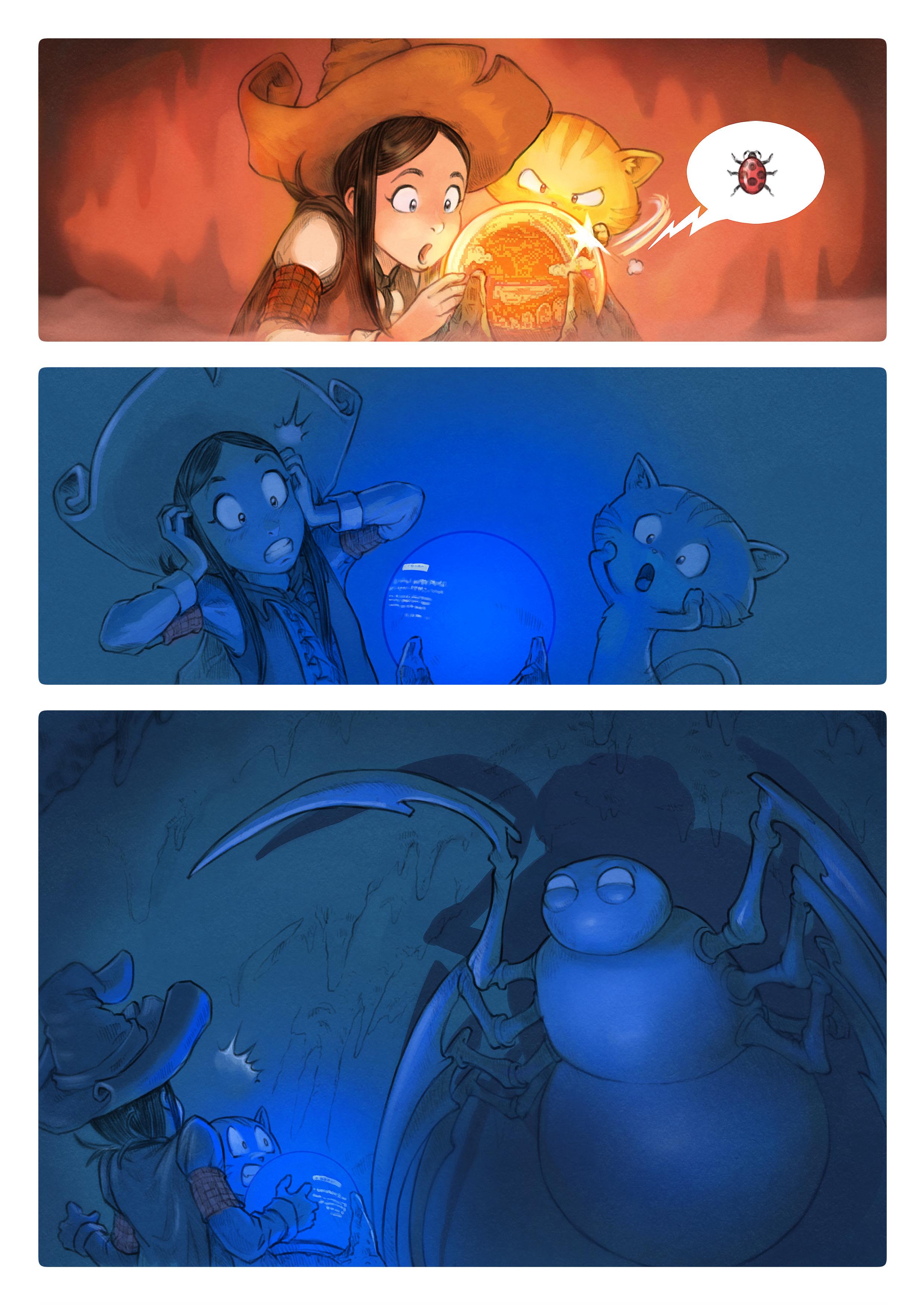 A webcomic page of Pepper&Carrot, эпизод 15 [ru], стр. 5