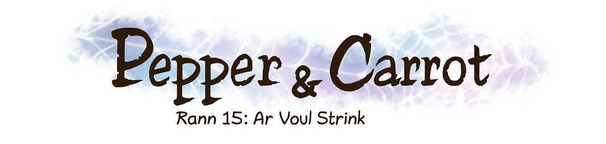 A webcomic page of Pepper&Carrot, rann 15 [br], pajenn 0