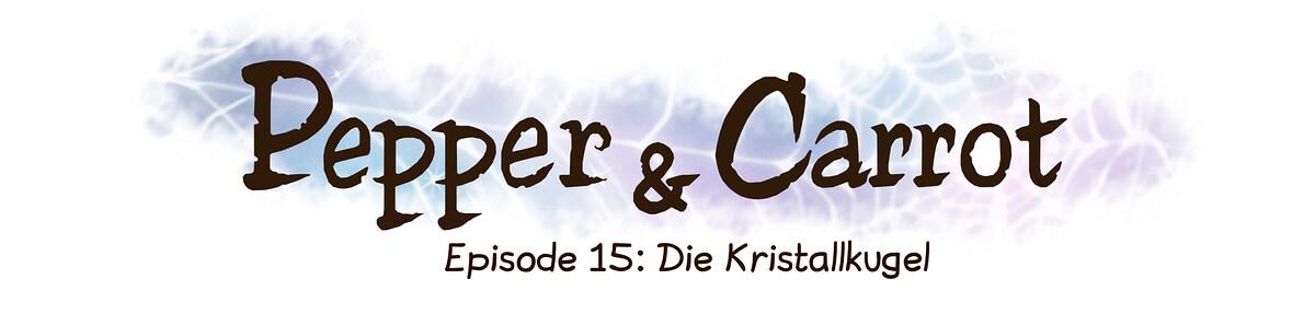 A webcomic page of Pepper&Carrot, Episode 15 [de], Seite 0