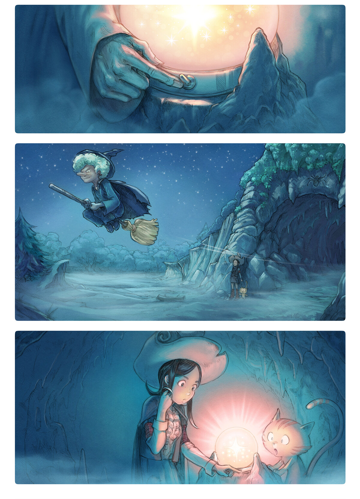 A webcomic page of Pepper&Carrot, epizód 15 [hu], oldal 2