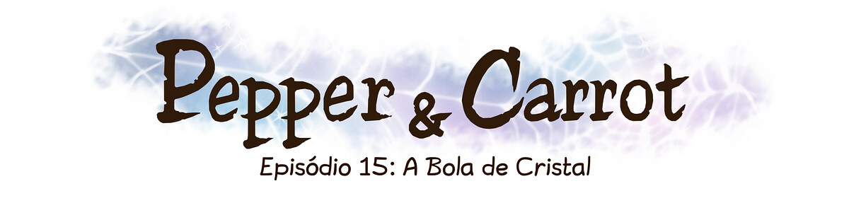 A webcomic page of Pepper&Carrot, episódio 15 [pt], página 0