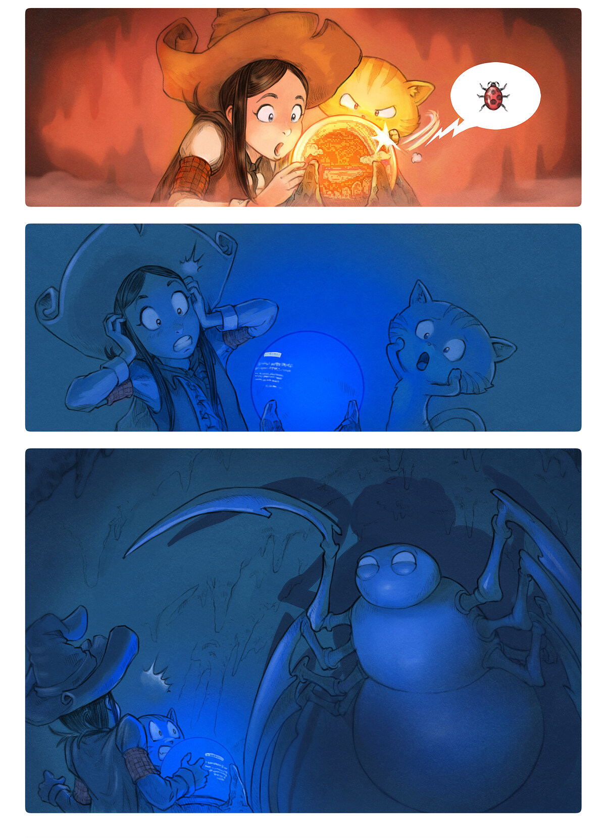 A webcomic page of Pepper&Carrot, Tập 15 [vi], trang 5