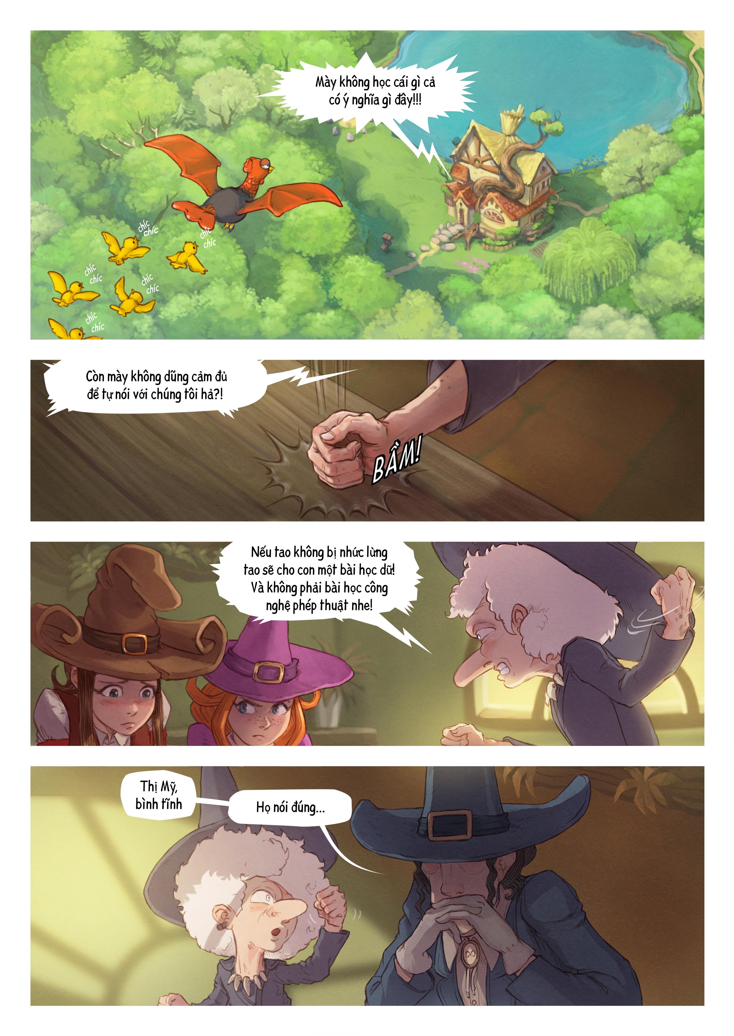 A webcomic page of Pepper&Carrot, Tập 16 [vi], trang 3