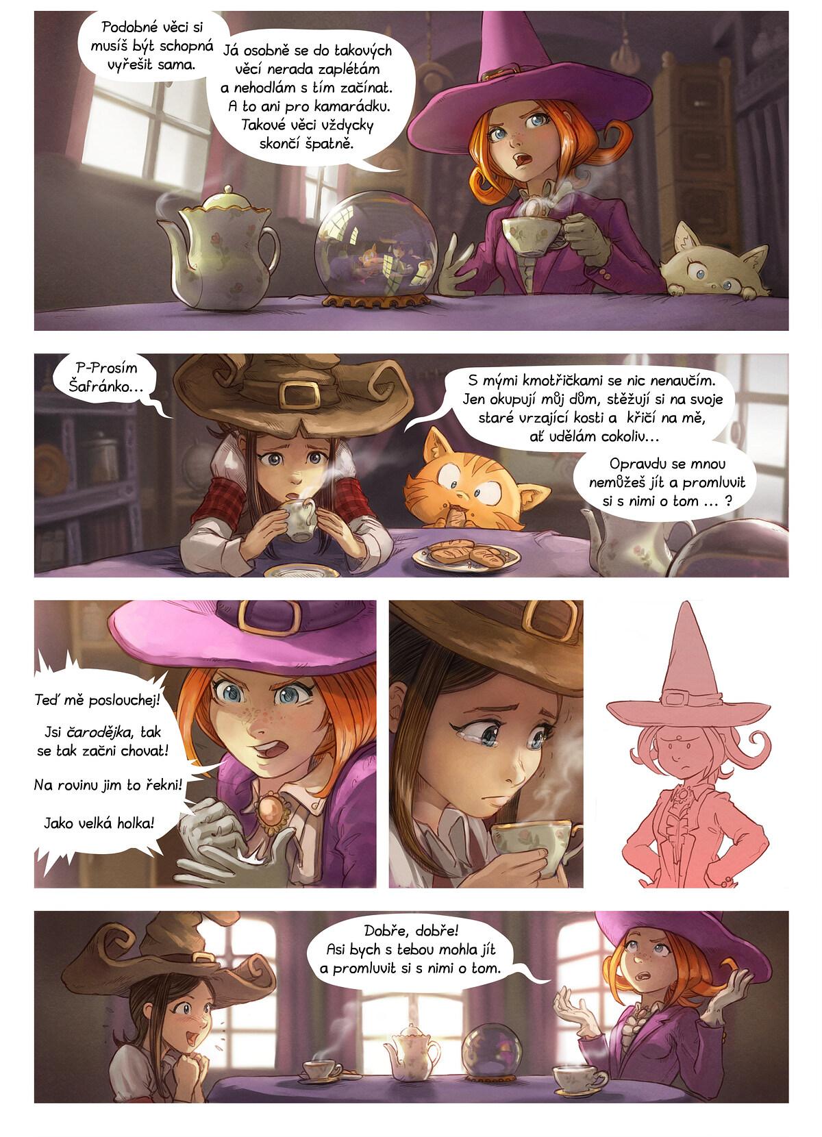 A webcomic page of Pepper&Carrot, epizoda 16 [cs], strana 2