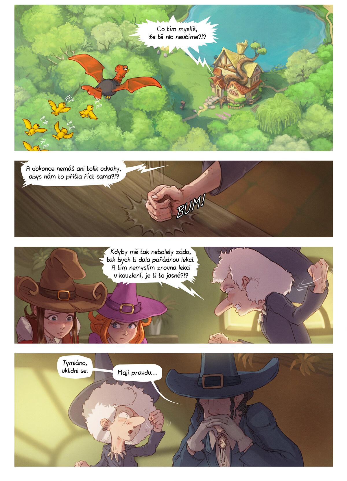 A webcomic page of Pepper&Carrot, epizoda 16 [cs], strana 3