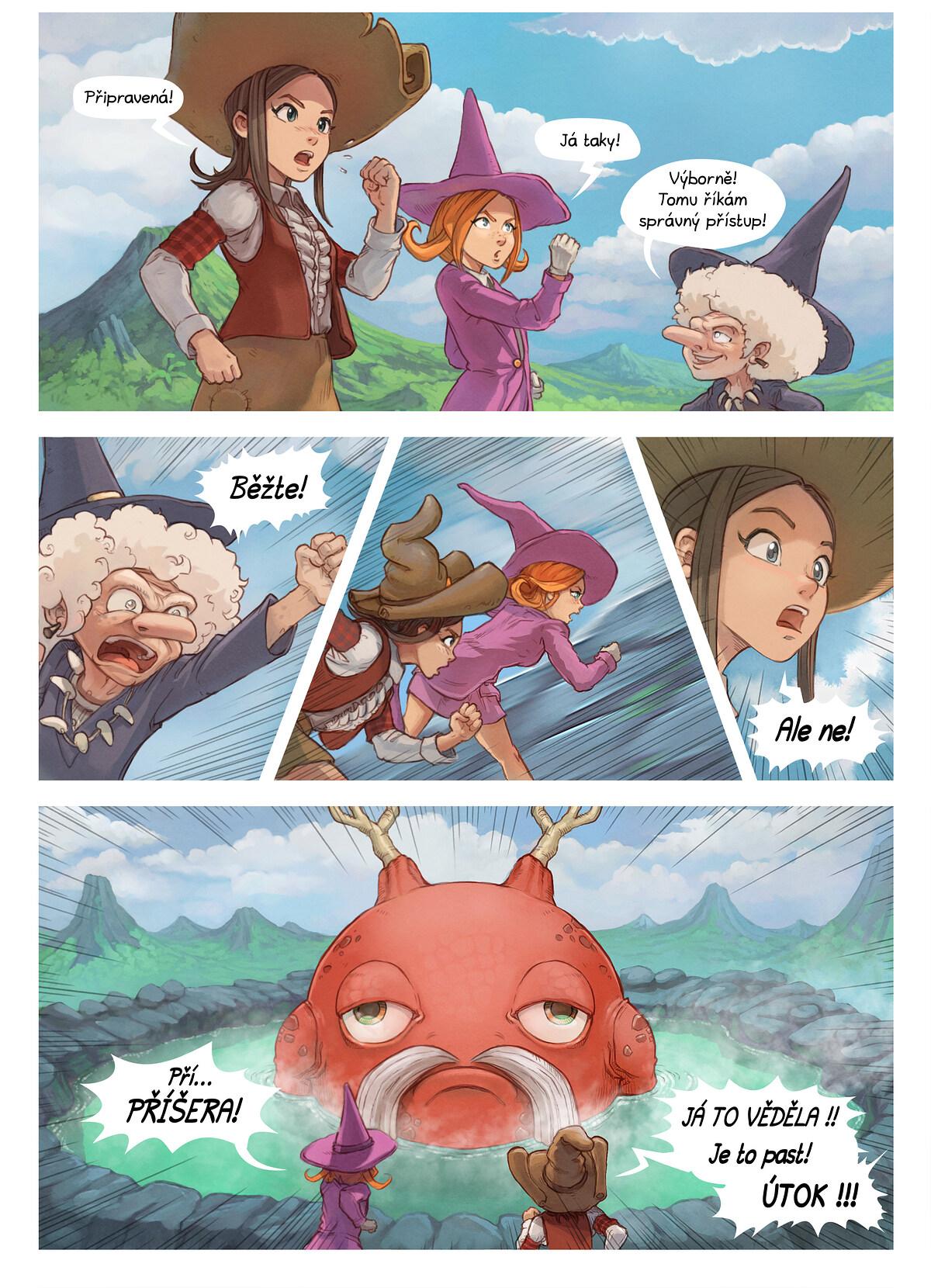 A webcomic page of Pepper&Carrot, epizoda 16 [cs], strana 5