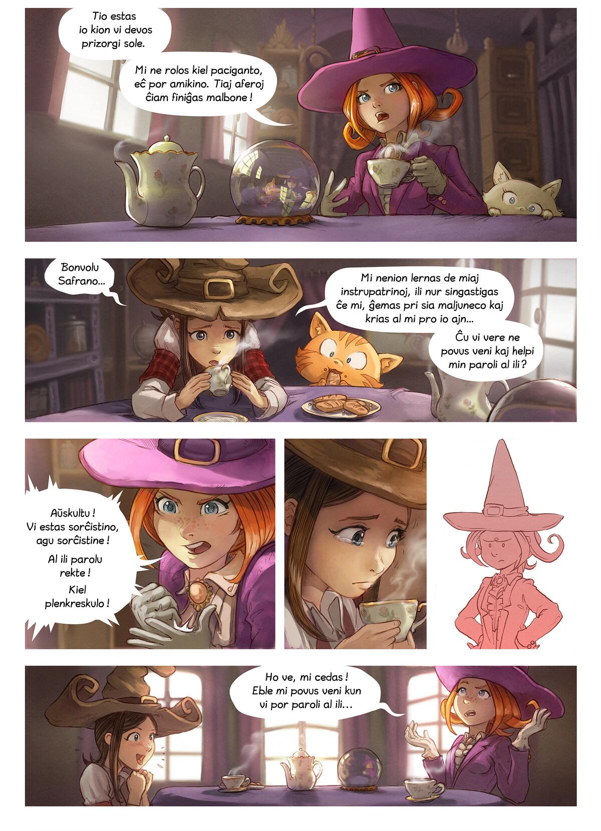 A webcomic page of Pepper&Carrot, rakonto 16 [eo], paĝo 2