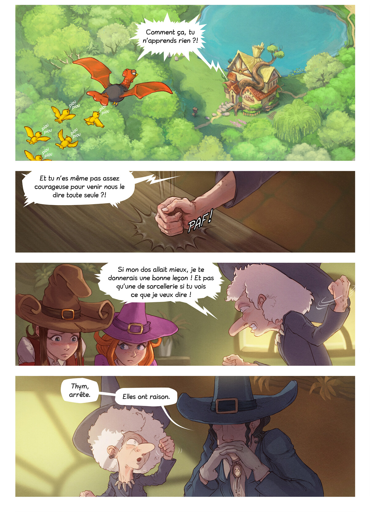 A webcomic page of Pepper&Carrot, épisode 3 , page 3