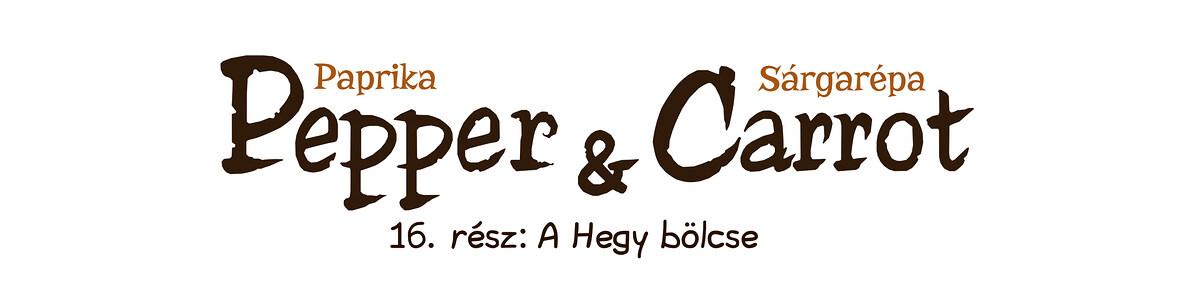 A webcomic page of Pepper&Carrot, epizód 0 , oldal 0