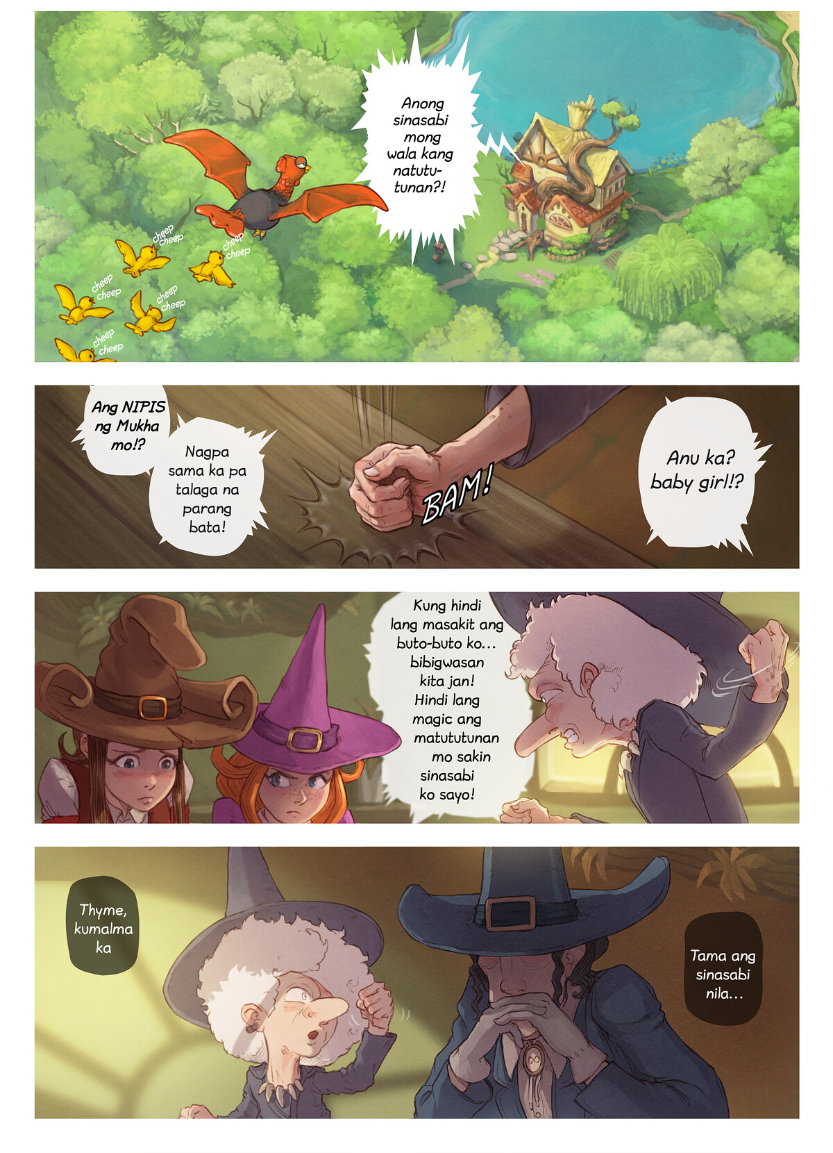Episode 16 : Guro ng Tuktok-Bundok, Page 3