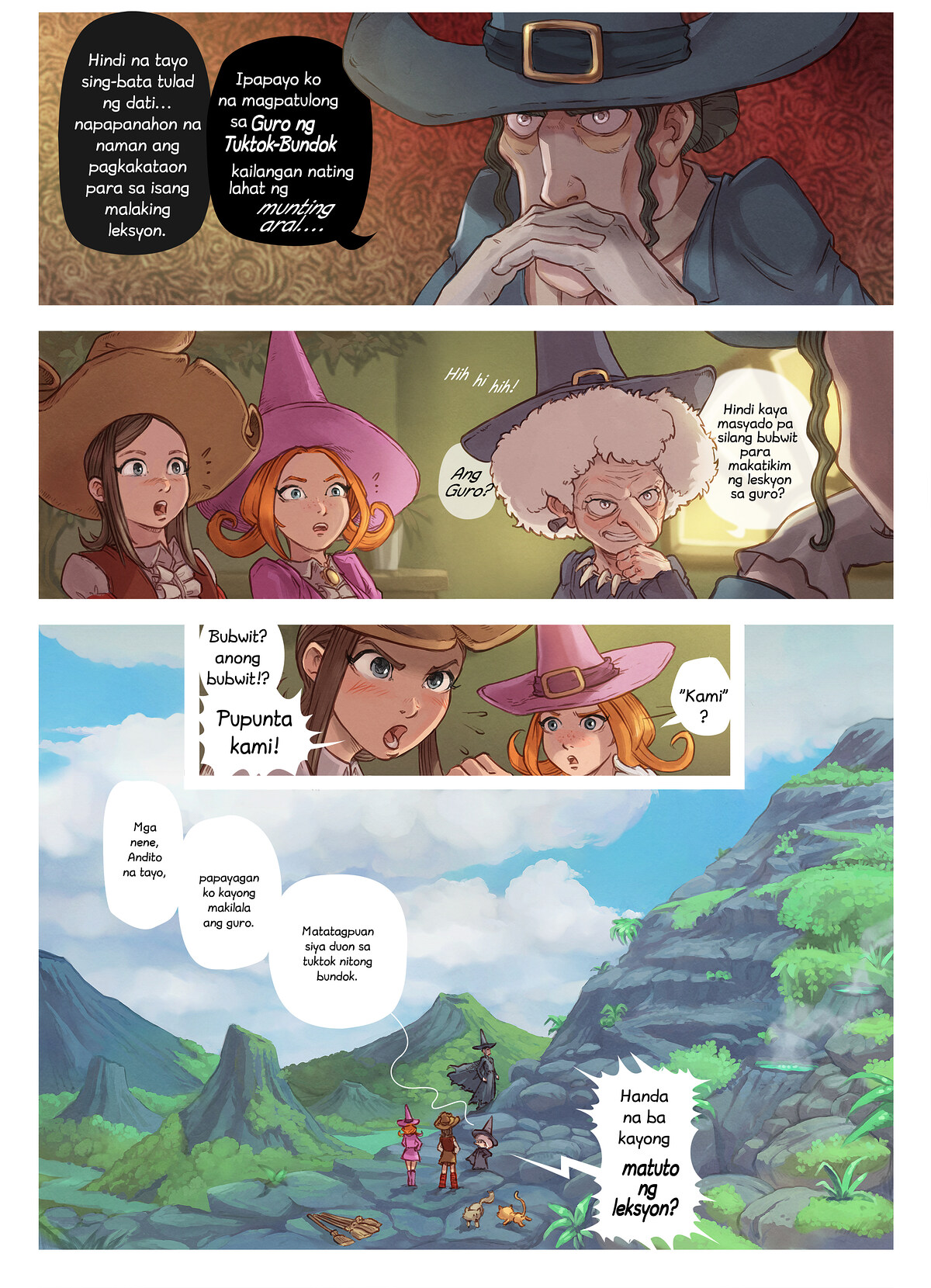 Episode 16 : Guro ng Tuktok-Bundok, Page 4